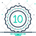 Decade Decennary Ten Icon