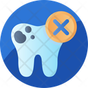 Decayed Teeth Dental Care Icon