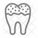 Decayed Tooth Dental Dentistry Icon