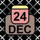 December Calendar Date Icon