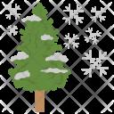 December Solstice Winter Icon
