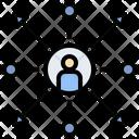 Decentralization Icon