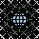 Decentralization Central Bond Icon