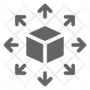 Decentralized Blockchain Cryptocurrency Icon