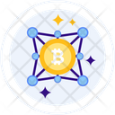 Decentralized Programm Bitcoin Decentralized Icon