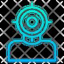 Target Goal Stategy Icon
