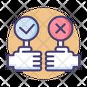 Decision Choice Select Icon