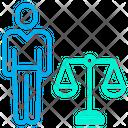 Attorney Court Decision Icon