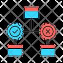 Decision Diagram Icon