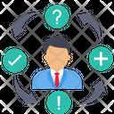 Decision Maker Making Decision Project Decision Icon