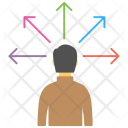 Decision Determination Conclusion Icon