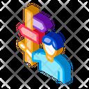 Human Post Column Icon