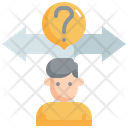 Decision Making Question Icon
