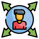 Decision Making Strategy Management Icon