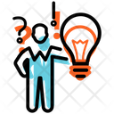 Decision Making Process Management Businessman Icon
