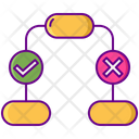 Decision Tree Decision Structure Decision Flow Icon
