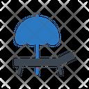 Deck Chair Summer Icon