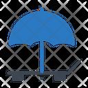 Deck Umbrella Beach Icon