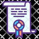 Declaration Document Seal Icon
