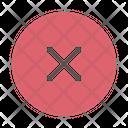 Decline Cancel No Icon