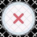 Decline Cancel Button Icon
