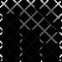 Decline Graph Icon