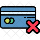 Declined Credit Shop Icon