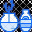 Decor Vase Furniture Icon