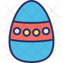 Decorate Dotted Egg Easter Egg Icon