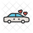 Decorated Car Icon