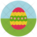 Decorated Easter Egg Icon