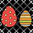 Decorated Eggs Icon