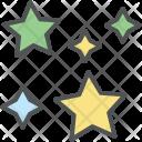 Decoration Stars Christmas Icon