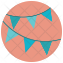 Decoration Flag Party Icon