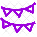 Party Decortion Banner Icon