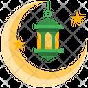 Decoration Moon Lamp Icon