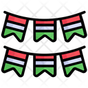 Decoration Indian Flag Icon