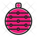 Chrismast Ball Decoration Icon