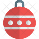 Dotted Bauble Ball Icon