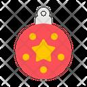 Decoration Ball Ball Ornament Icon