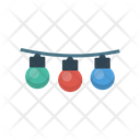Decoration Bulb Light Party Icon