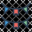 Decoration bunting Icon