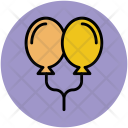 Decorative Balloons Decorations Icon