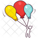 Decorative Balloons Icon