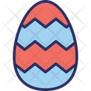 Decorated Egg Easter Easter Egg Icon