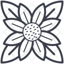 Chinese Flower Decoration Icon