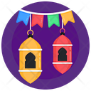 Ramadan Lanterns Ramadan Decorations Decorative Lanterns Icon