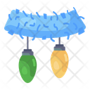 Fairy Lights Electric Lights String Lights Icon