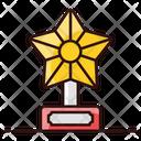 Decorative Star Star Star Ornament Icon