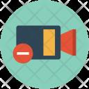 Decrease Video Recorder Icon